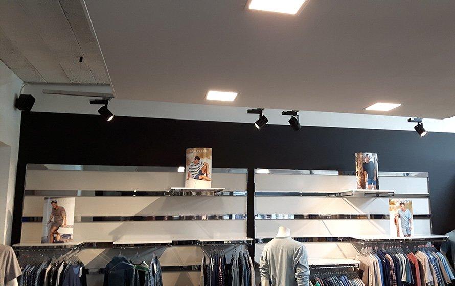 Clothing Shops Lighting Application - Retail Lighting - Lowcarbonlux com