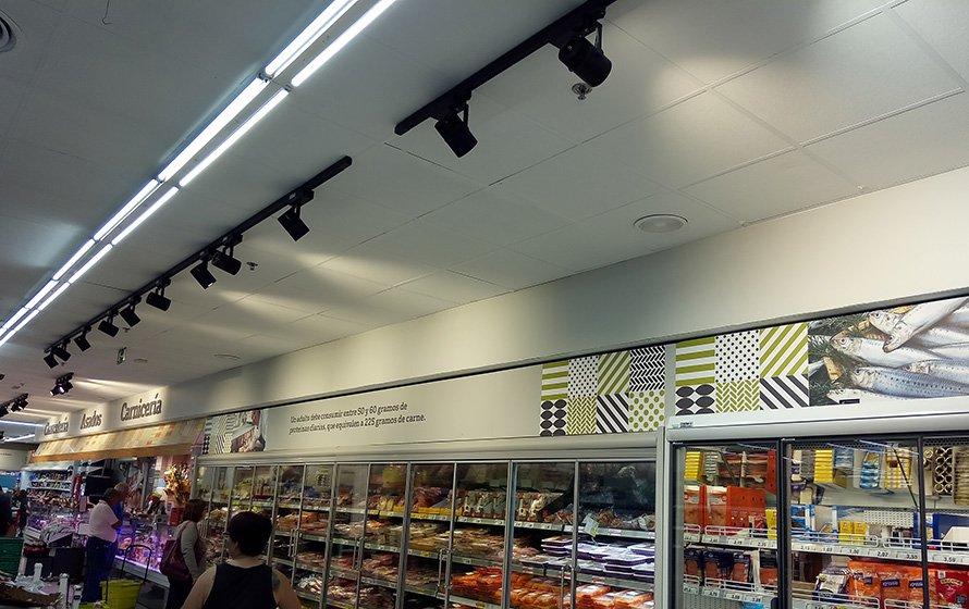 Supermarket Lighting Lication Tracklights